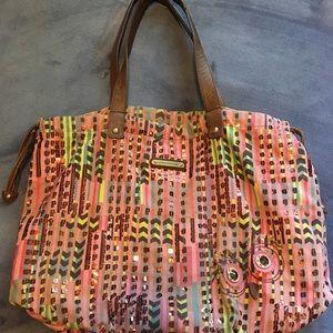 Juicy Couture large handbag OWL decal